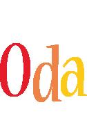 Oda birthday logo