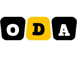 Oda boots logo