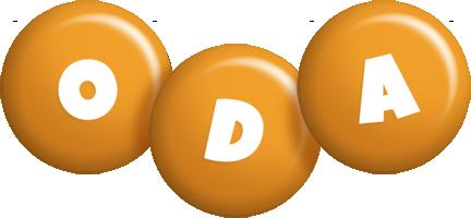 Oda candy-orange logo
