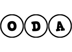 Oda handy logo