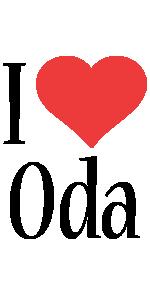 Oda i-love logo