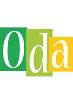 Oda lemonade logo
