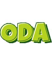 Oda summer logo