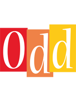 Odd colors logo