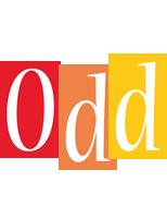 Odd colors logo