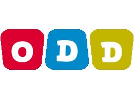 Odd daycare logo