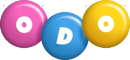 Odo candy logo