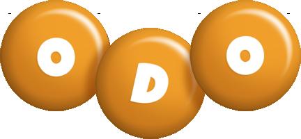 Odo candy-orange logo