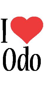 Odo i-love logo