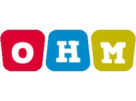 Ohm daycare logo
