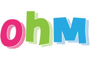 Ohm friday logo