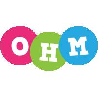 Ohm friends logo
