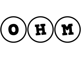 Ohm handy logo