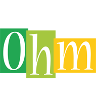 Ohm lemonade logo
