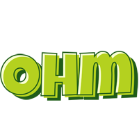 Ohm summer logo
