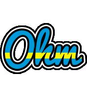 Ohm sweden logo