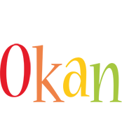 Okan birthday logo