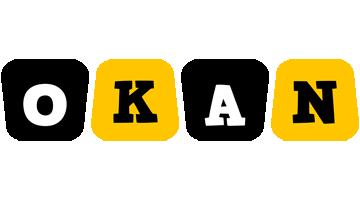Okan boots logo