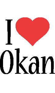 Okan i-love logo