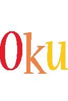 Oku birthday logo