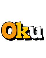 Oku cartoon logo