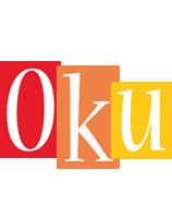 Oku colors logo