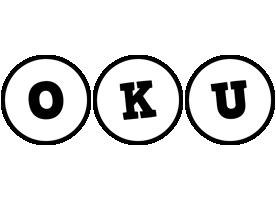 Oku handy logo