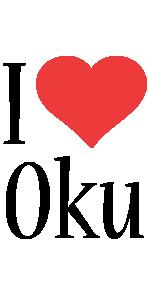 Oku i-love logo