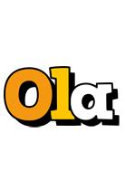 Ola cartoon logo