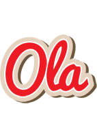 Ola chocolate logo