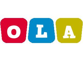 Ola daycare logo