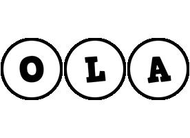 Ola handy logo