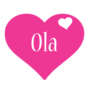 Ola love-heart logo