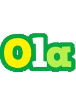 Ola soccer logo