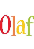 Olaf birthday logo