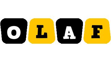 Olaf boots logo