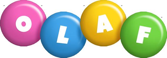 Olaf candy logo