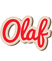 Olaf chocolate logo
