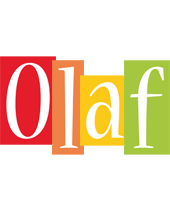 Olaf colors logo