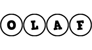 Olaf handy logo