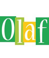 Olaf lemonade logo