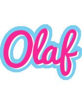 Olaf popstar logo