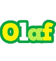 Olaf soccer logo