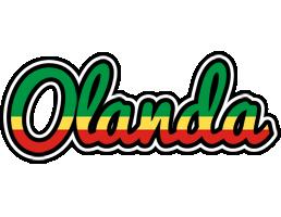 Olanda african logo