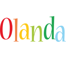 Olanda birthday logo