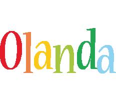 Olanda birthday logo