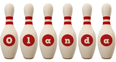 Olanda bowling-pin logo