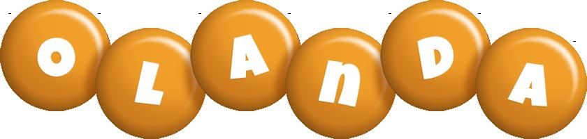 Olanda candy-orange logo