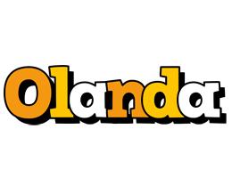 Olanda cartoon logo