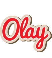 Olay chocolate logo